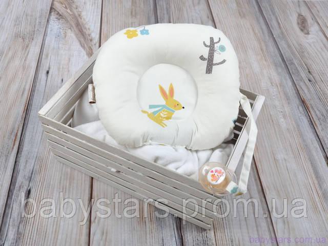 подушка для головы новорожденного