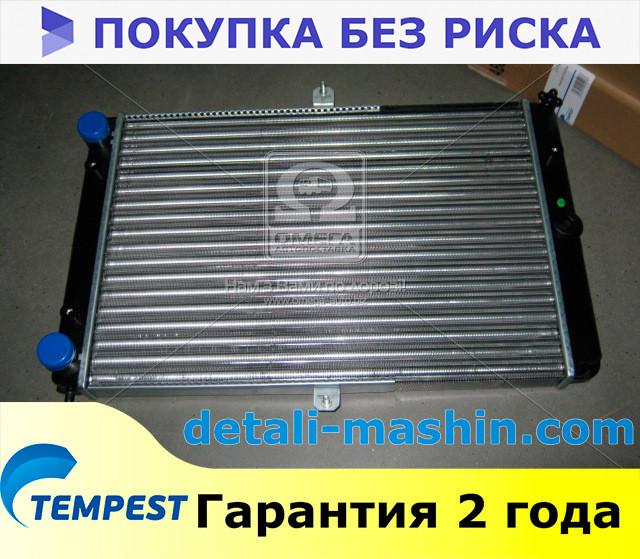 Радиатор водяного охлаждения Москвич 2126, 2127, 2717 алюминиевый (TEMPEST)