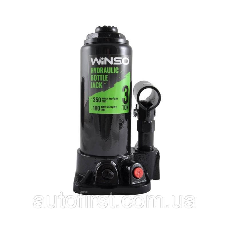 WINSO Домкрат гидравлический подставной(бутылка) 3.Т-180-340мм подём
