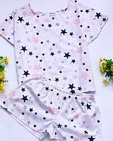 Хлопковая пижама. женская домашняя одежда. хлопок 100%.Жіночий домашній одяг