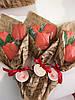 Букеты с тюльпанов. Подарочный букет из пряников., фото 2