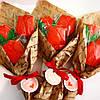 Букеты с тюльпанов. Подарочный букет из пряников., фото 5