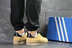 Мужские кроссовки Adidas Topanga (Горчичные), фото 2