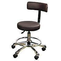 Стульчик мастера, стульчик врача стоматолога со спинкой 2116