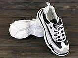 Стильные женские кроссовки Lonza JL-18030 BLACK 36 23 см, фото 4