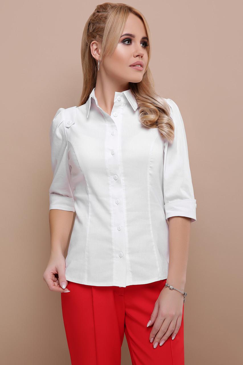 99044b58177 Белая Рубашка Блузка Женская Классика — в Категории