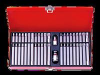 Набор вставок (бит) 10 мм, TORX, SPLINE, HEX, 44 предмета