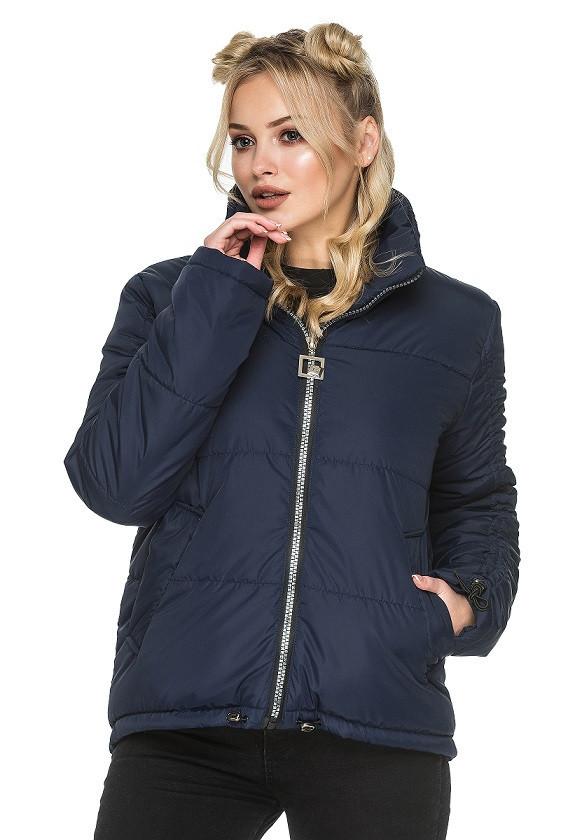 Женская куртка осень-весна Гера синий (44-54)