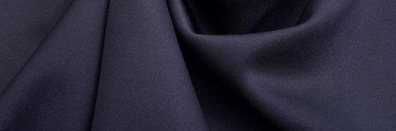 Ткань Дайвинг с Начесом, Темно Синий