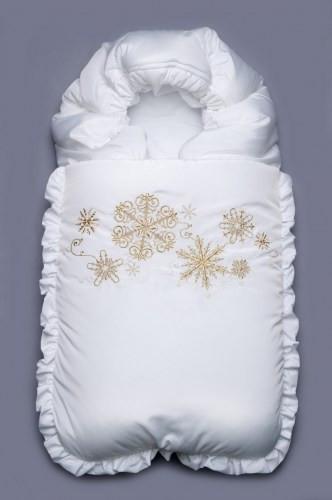 Конверт-одеяло зимний 'Снежинка'