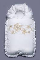 Конверт-одеяло зимний Снежинка