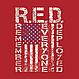 Футболка Rothco с флагом США Athletic Fit R.E.D., фото 3