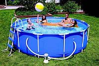 Каркасный бассейн Intex Metal Frame Pool 54424/28218-366х99 см.(новый артикул 28218)киев, фото 1