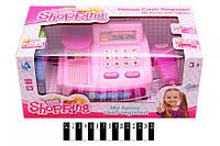 Игровой набор: Касса магазина с аксессуарами CF8607, кассовый аппарат