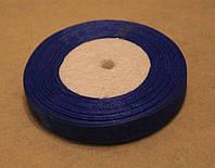 Лента органза 964 синий 1,5 см, фото 1