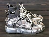 Женские кроссовки Lonza 50208 SILVER 36 23 см, фото 1