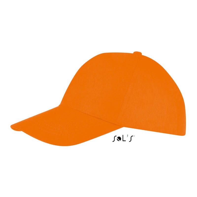 Кепка Бейсболка летняя оранжевая ОПТ