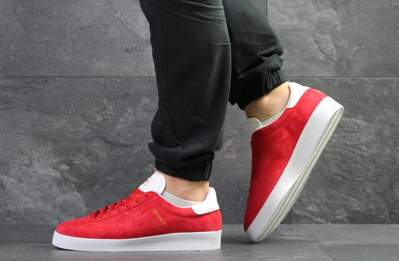 Мужские кроссовки Adidas Topanga (Красные)