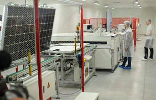 Перший український завод з випуску сонячних панелей відкрито у Вінниці (відео)