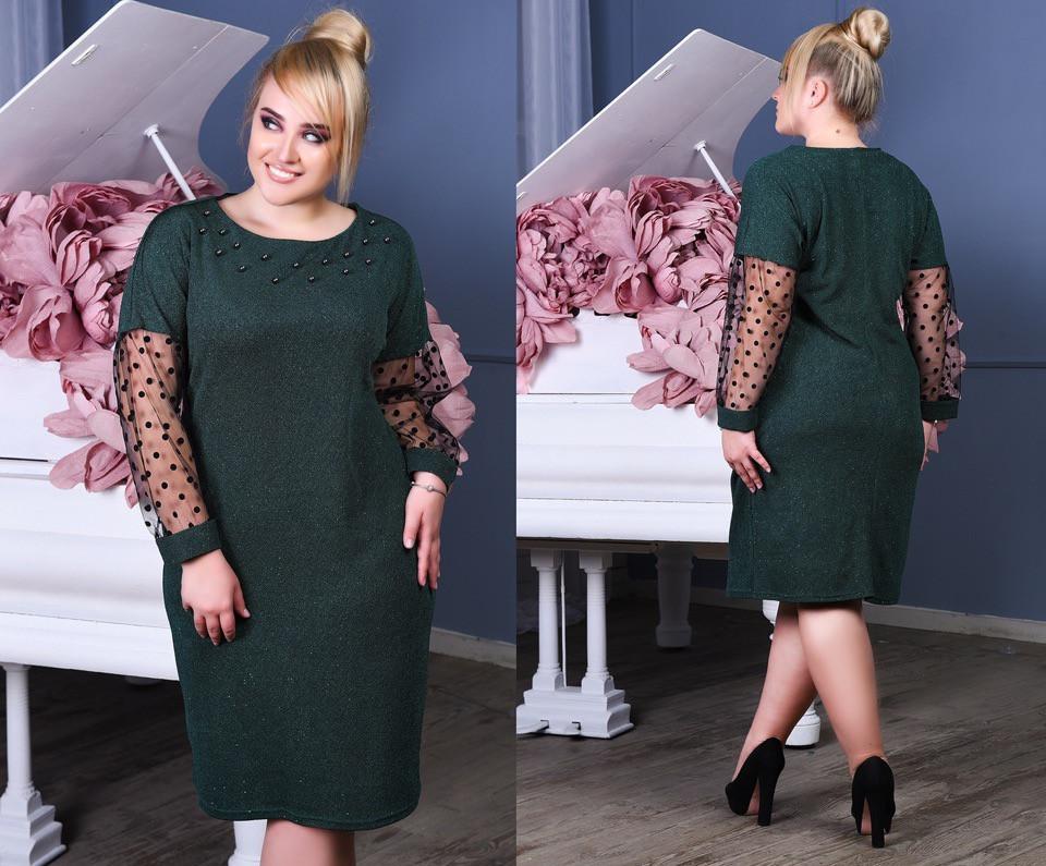Женское стильное платье ВЛ1107(бат)