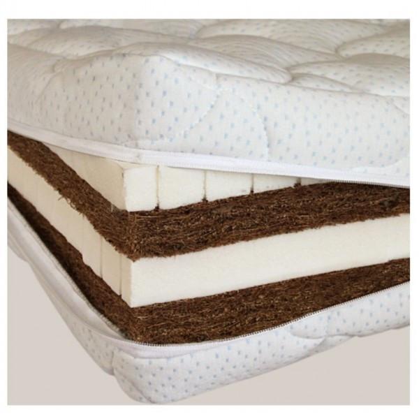 Безпружинный матрас SoNLaB latex-kokos