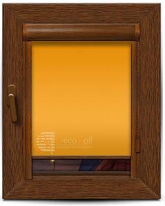 Рулонные шторы закрытого типа, в коробе