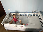 Кровать подростковая Baby Dream Konfetti от 3 лет, фото 7