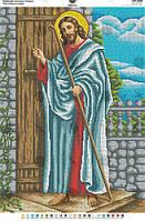 Схема для вишивки бісером Ісус стукає в двері. Арт. КРВ-1 a082113fff243