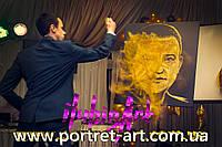 Золотое шоу Звездная пыль Золотой песок
