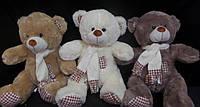 Мишка 38 см милый мягкий сувенир для взрослых и детей плюшевая игрушка
