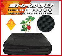 "Агроволокно  50 г/м², 1,6х5 м. чёрное на метраж UF-4%  ""Shadow""(Чехия), фото 1"