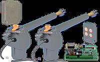 Электромеханический привод для распашных ворот FAAC GFlash Q (G-BAT 400) створка до 4 м MAXI, фото 1