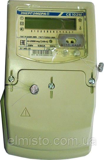 Электросчетчики Энергомера CE102M S7 148 JV 10-100А однофазные многотарифные