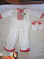 Комплект для новорожденных крестильный 68 и 74