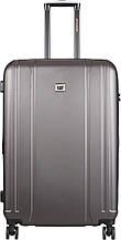 Пластиковый чемодан CAT Orion 83656;99, на 4 колеса, большой, 90 л