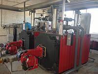 Промышленные газовые жаротрубные водогрейные котлы Колви