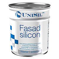 Фасадный лак для камня  Unisil Fasad silicon с эффектом мокрого камня 0.7кг