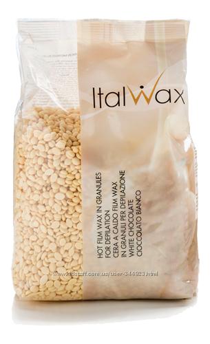 ItalWax Воск горячий пленочный Белый шоколад 1000 гр.