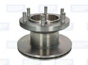 Тормозной диск IVECO OE 1904693 SBP 02-IV013