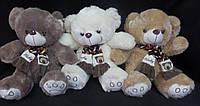 Милый мягкий сувенир Мишка 40 см плюшевая мягкая игрушка медведь в шарфе