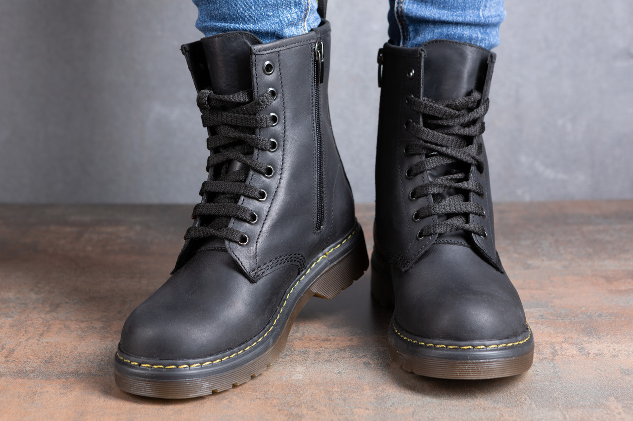 Женские ботинки Dr. Martens (Кожа)  продажа bf282e026b74d