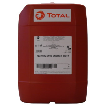 Total QUARTZ 9000 ENERGY 5W-40 20л