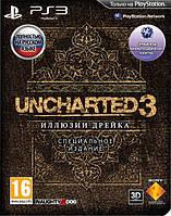 Uncharted 3: Иллюзии Дрейка (PS3) Специальное издание БУ