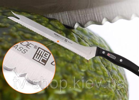 Универсальный нож мирового класса Miracle Blade – для точной нарезки кубиками и шинкования