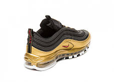 "Кроссовки Nike Air Max 97 QS ""Black/Varsity Red-Metallic Gold"", фото 3"