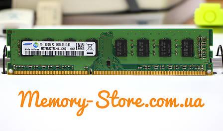 Оперативная память для ПК Samsung DDR3 4Gb 2Rx8 PC3-10600 1333MHz Intel и AMD, б/у, фото 2