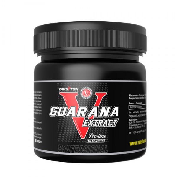 Энергетик Гуарана (60 капс.) Ванситон