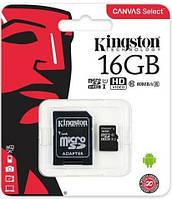 Карта пам'яті microSD 16Gb class10 UHS-1