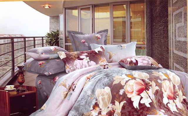 Сатиновое постельное белье Евро Elway
