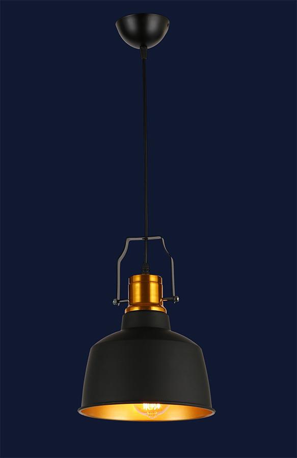 Люстра підвісна Levistella 7546601-1 BK+GD